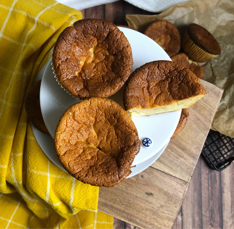 Read more about the article Käsekuchenmuffins, glutenfrei