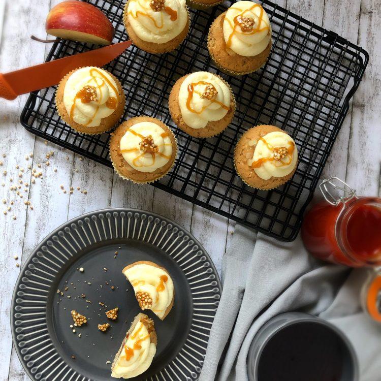 Apfel-Hagebutte-Cupcakes